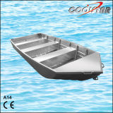 14FT a Type Flat Bottom Aluminum Fishing Boat