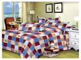 Printed Poly/Cotton 50/50 Fitted Bedspread Patchwork Bedding Set