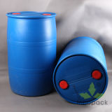 China Manufacturer 200 Litre Blue Plastic Drum with Closed Top