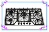 Five Burner with Cast Iron Pan Support Gas Hob Kitchen (JZS5833)
