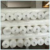 White Microfiber Polyester Bedsheet Fabric Preparing for Printing
