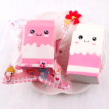 Milk Bag Release Cute Charms Cartons Scented Decompression Toy Squishy