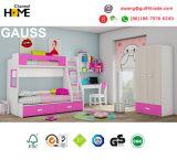 Popular Design Bunk Bed Colorful Children Kids Bedroom Furniture (GAUSS)