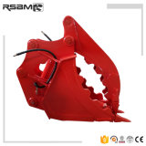 Rsbm 850kg 400mm Width Grab Bucket for Excavator