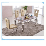 Modern Marble Dining Table Living Room Top Set Furniture