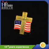 Cheap Gold Zinc Alloy Metal Craft Lapel Pins