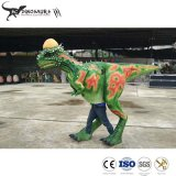 Walking Dinosaur Costume Pachycephalosaur Simulation Walking Model for Amusement Park
