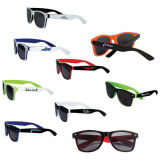 Plastic Printed Two-Tone Glossey Sunglasses (PM088)