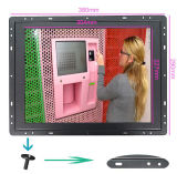 15 Inch OEM LCD TFT Touch Screen Monitor with DVI/HDMI Open Frame Monitor