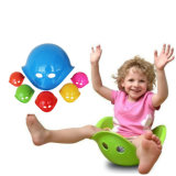 Bilibo Blue Plastic Toys Children's Sense of Tortoise Shell Sand Water Toys Kindergarten Series Training Changed The Spinal Turn Basin Size Rotating Gyroscope
