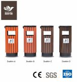 Outdoor Rotproof Garden Furniture WPC Dustbin