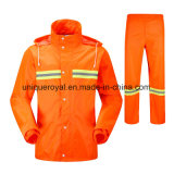 High Quality Adult Split Raincoat