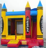 Inflatable Combo Castle, Jumping Castle (B3056)