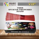 T6508-Spurter Fireworks Handheld Sparklers Safe Morning Glory Toys Pyrotechnics 1.4G Un0336 Chinese Fireworks