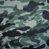 Camouflage Camo PU Imitation Leahter Good Quality for Bag Decoration Cloth