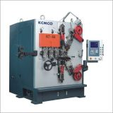 6mm CNC tower spring coiling machine with swing cutter
