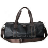 Vintage PU Leather Travel Sport Duffle Bag, Waterproof Man Duffel Bag Fitness Yoga Gym Bag Wholesale