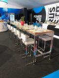 Stainless Steel Stackable Knockdown Bar Stools