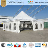 Large Mobile Canopy Pagoda Tent with Clear Church Windows