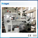 Flexographic Aluminum Foil Plastic Paper Cup Film Label Roll Cold Stamping Laminating Die Cutting Punching Slitting Color Flexo Printing Machine