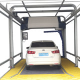 360 rotating single arm automatic touchless car wash machine with drying system