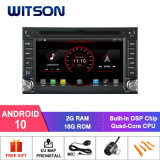 Witson Quad-Core Android 10 Car DVD Player for Universal Double DIN DVD Player 2g RAM Bulit in 4G 16GB ROM