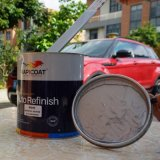 Color Effect Long Lasting Metallic Automotive Refinish 1K Basecoat Pearl Metallic White Excellent Adhesion Power