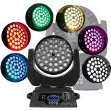 DJ Equipment LED Effect Lighting RGBW 4in1 36pcsx12W LED Zoom Wash Moving Head Light