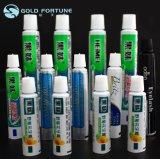 Toothpaste Aluminum Plastic Laminated Tube Packing with Screw on Cap