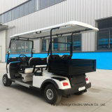 Support Customization Factory Price 4 Seaters Hotel Electric Vehicle Golf Car Whit Cargo Box