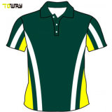 Quick Dry Striped Wholesale Polo Shirt Custom