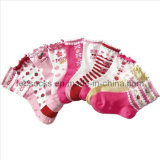 Children Girl Cotton Socks (DL-CS-08)
