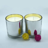 Wedding Use Aroma Soy Wax Candles in Silver Glass Jar
