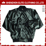 Wholesale Cheap Fashion Army Green Satin Bomber Jacket (ELTBJI-1)