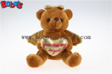 Wholesale Price Brown Plush Angel Bear Gift for Valentines Day Bos1114