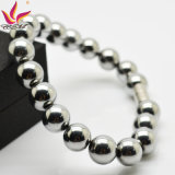 Htb007A Silver Hematite Charm Magnetic Bracelet for Promotion Gifts