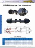 American Type Outboard Axle Trailer Axle Used Truck Parts