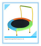 Sld--Kids Trampoline with Handle Bar