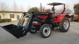 80HP 4WD Wheeled Tractor with Farm Implement