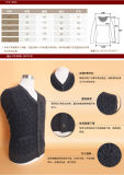 Yak Wool/Cashmere V Neck Cardigan Long Sleeve Sweater/Garment/Clothing/Knitwear