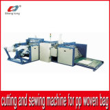 Auto Cutting and Bottom Sewing Machinery for PP Woven Fabric Roll Bag