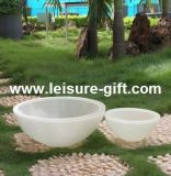 Fo-298 Garden Bowl Fiberglass Planter Flower Pot