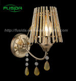 High Quality Crystal Wall Light with Iron Material (9318/1W)