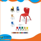 Nursery Furniture Plastic Seat Steel Tube Chair