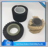 Round Industrial Brush Roller Cleaning Brush with Nylon Bristle