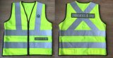High Quality Safety Vest with Embroidery Logo, Direct Factory