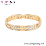 Xuping 18K Gold Color Luxury Bracelet
