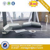 3+2+1 Living Room Furniture Moder Leather Sofa (HX-S368)