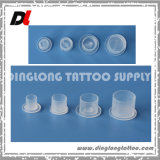Disposable Clear Plastic Tattoo Pigment Ink Caps, Ink Cups with The Base