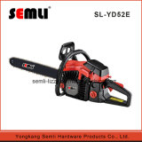 2-Stroke Gasoline Power Chainsaw with Safety Trigger